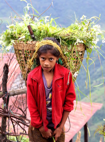 Child Worker Connected By Travel