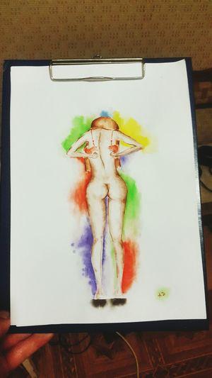 рисунок рисунок акварелью рисунок красками