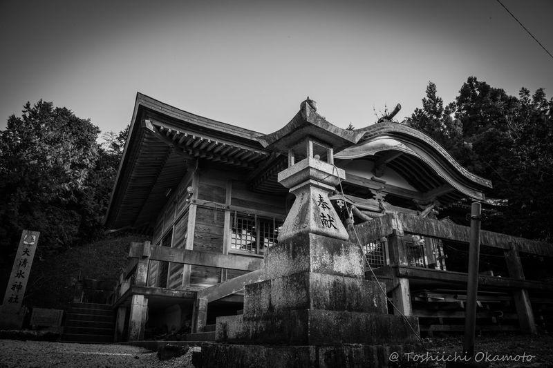 大清水神社 Relaxing Black & White