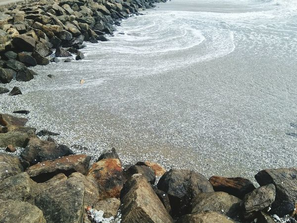 Beach Shore Nature Pebble Sand Rocks Salty Water Godscreation GodsOwnCountry Fort Kochi Live For The Story The Great Outdoors - 2017 EyeEm Awards EyeEmNewHere