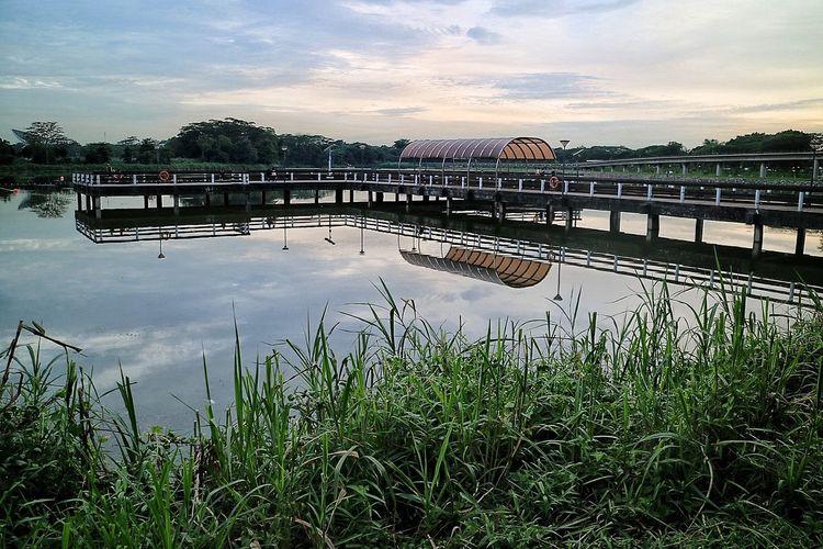 Bridge - Man Made Structure Lower Seletar Reservior Nature Nparks Nparksbuzz Reflection Reservoir Tranquility