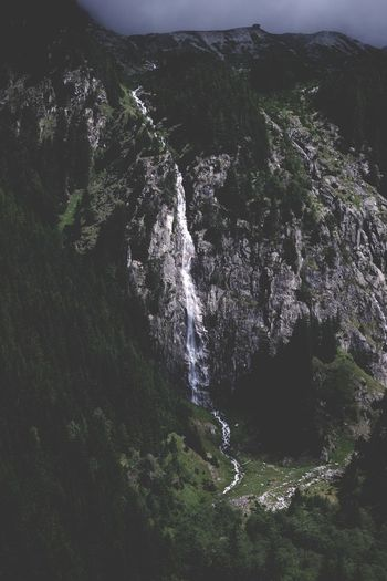 Nature Water No People Outdoors Forest Tree Beauty In Nature Scenics Mountain Landscape Freshness Sky Waterfall Anterselva Val Pusteria Ambient Lowkey  Storm Storm Cloud