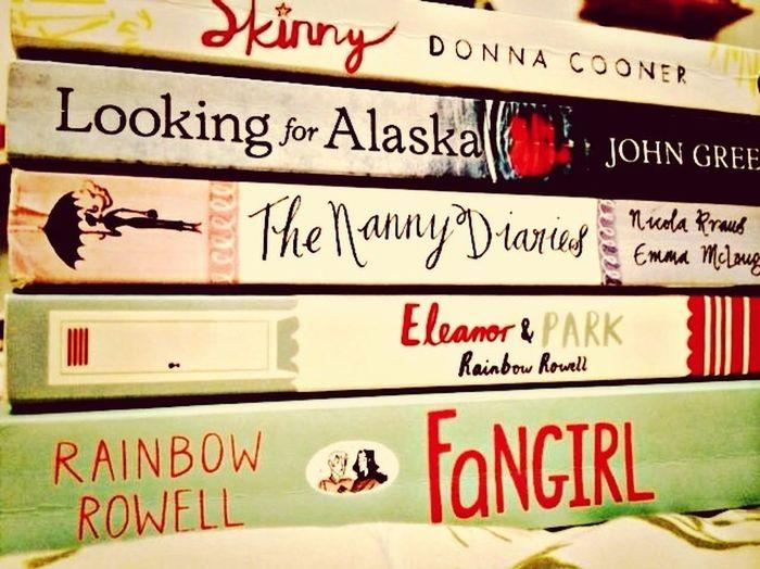 To do list; buy them all? Book Bookstore Rainbow Rowell EleanorAndPark