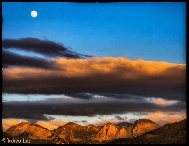 Sky Skydreams Nature Photography Moon Mountain Sunset Outdoors Canonphotography Canon_photos The Great Outdoors - 2017 EyeEm Awards