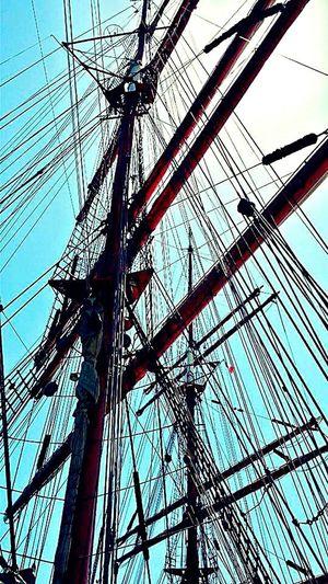 Low Angle View Sun Puglia Italy 🇮🇹 Interlacement Sails Sailer