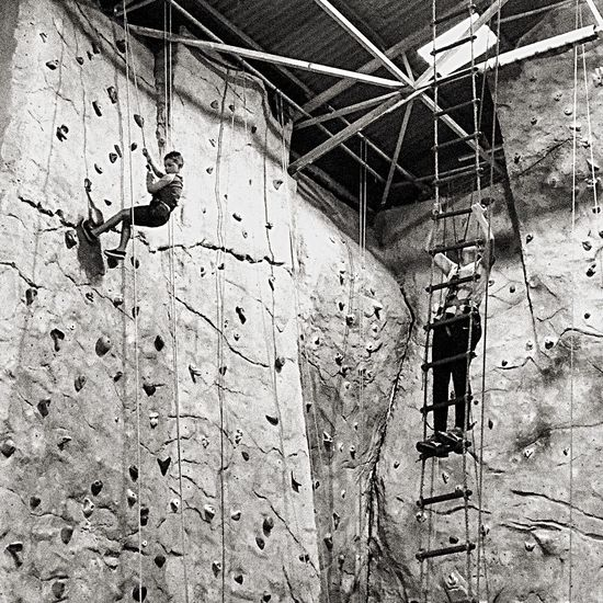 Alternative Fitness Climbing Climbing Wall Blackandwhite Blackandwhite Photography Textures And Grains