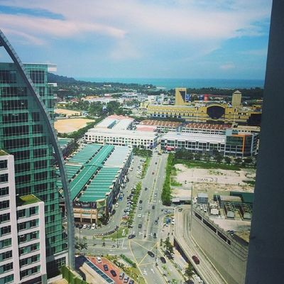 Kuantan View from Level 22 Zenith Tower