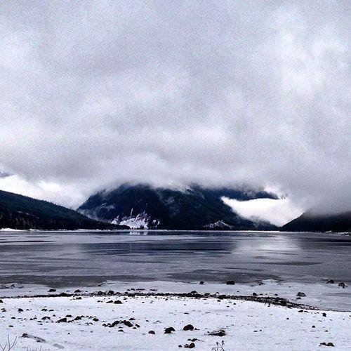 Pemberton BC Snow Cold Ice Pemberton cantrememberwhatmountain dirtroads offroad 4wheel clouds