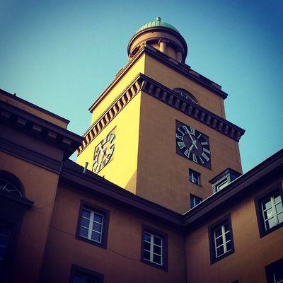 Witten Rathaus im Frühling