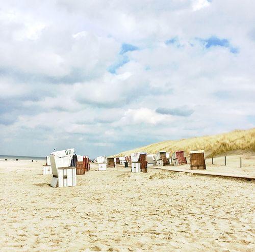 Baltrum Baltrum Nordsee Ostfriesische Inseln Beach Strand Cloud - Sky Sky Sand Beach Land Nature Day