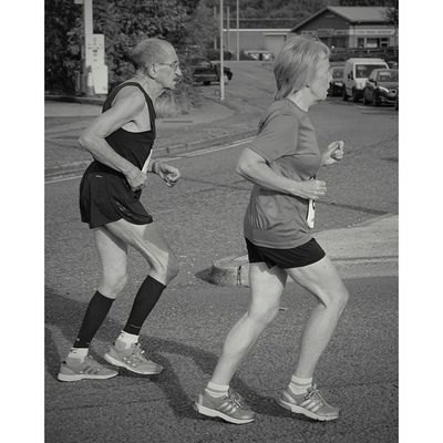 Age is but a number' you're never to old: Capturingbritian_bnw Icu_britain Athletes Mini marathon congleton cheshirelife repost blackandwhite streetphotography upnorth