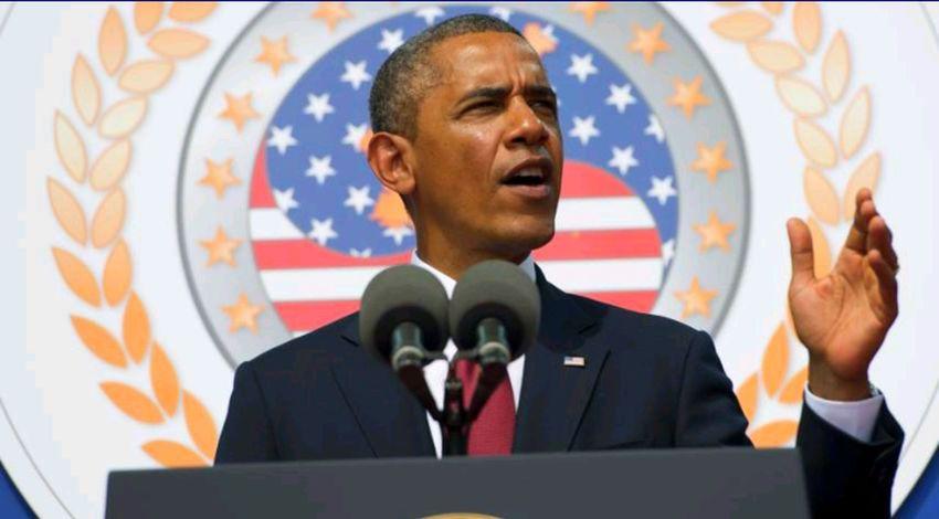 Barack Obama USA Black