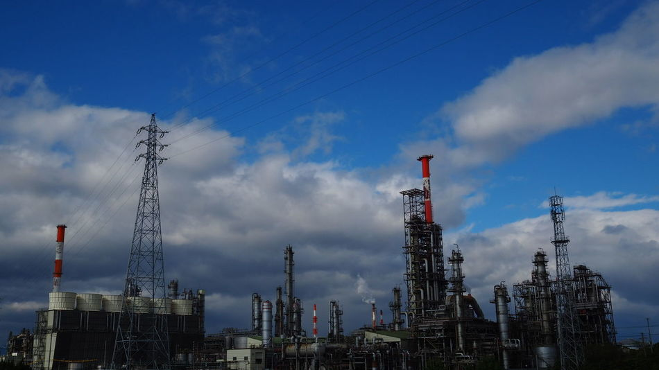 Factory Chemicalplant 工場 Petrochemicalplant 工場萌え EyeEm Best Shots EyeEmBestPics