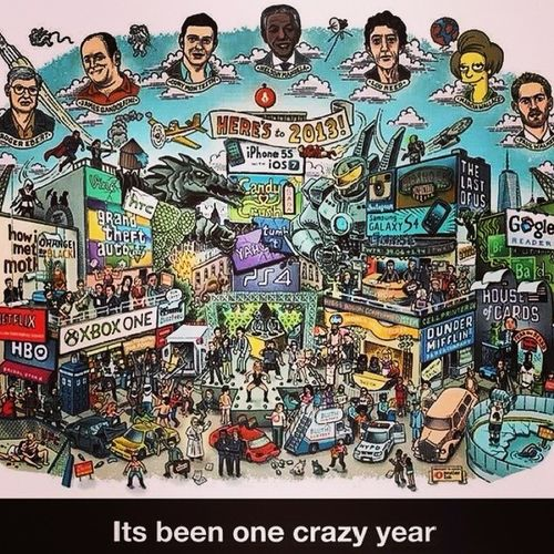 Been a hell of a year..... Salutations2013