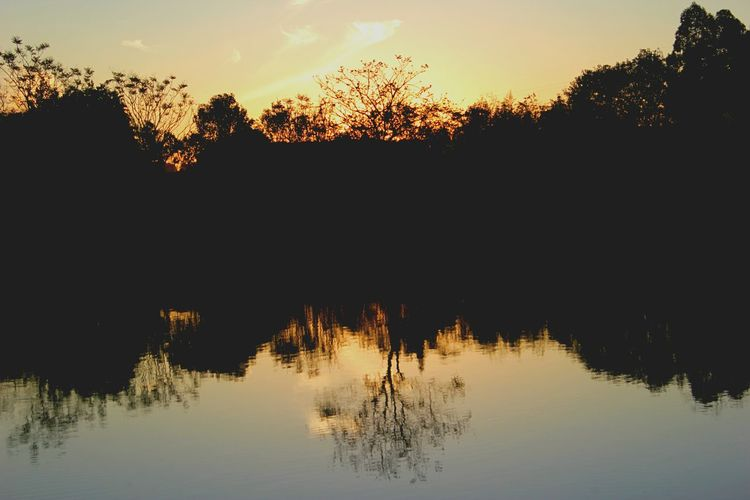Beautiful sunset im my space Sunset Reflection Water Nature Sky Day Brazil EyeEm Gallery EyeEm Best Shots Artistic Expression EyeEm Nature Collection Flowers,Plants & Garden Relaxing Skycollection Waves, Ocean, Nature Photography Artphotography Landscape Lan