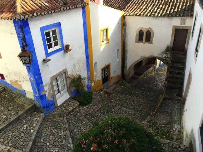 Street Óbidos  Portugal