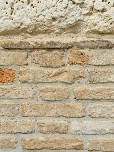 Brick Wall ArchiTexture Background Textures And Surfaces Orange Brown Tuff Brick And Mortar Cracked Old Wall