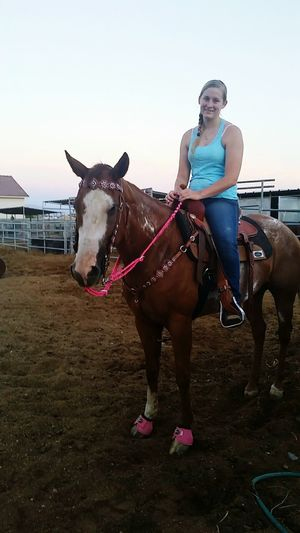 Enjoying Life Love Summer Relaxing Country Life Bestfriend Cowgirl Horse Riley