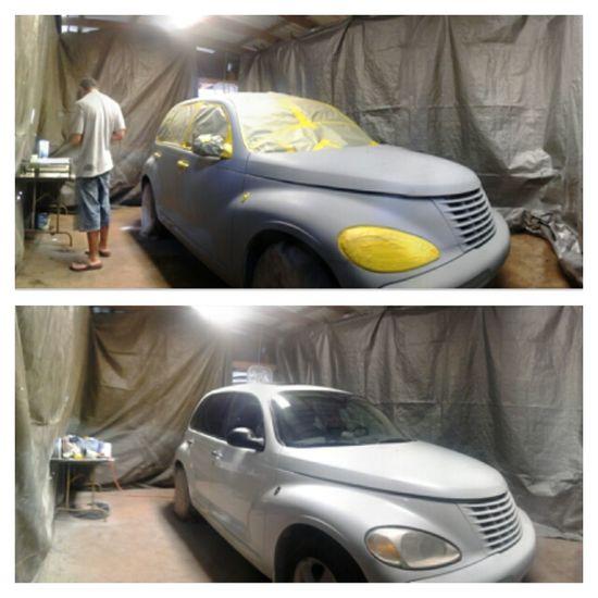 Faka finally painted his car :)