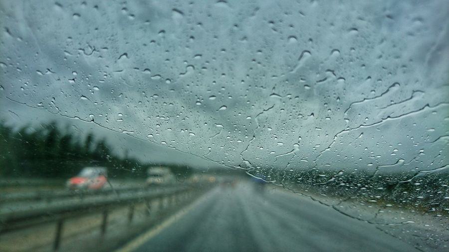 Taking Photos Enjoying Life Roadtrip Road Trip Rainy Day Highway Autobahn Traffic Rain Rainy Days RainyDay Rainy Days☔