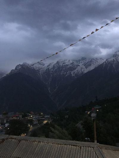 Mountain Sky Beauty In Nature Nature Snow Mountain Range Winter Landscape Range Cloud - Sky No People