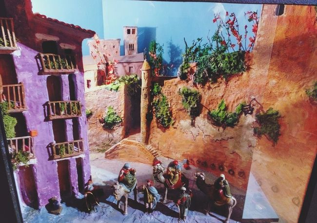 El Portalet de Vic, Osona Barcelona Catalunya SPAIN Diorama ArtWork Traditions Catalonia