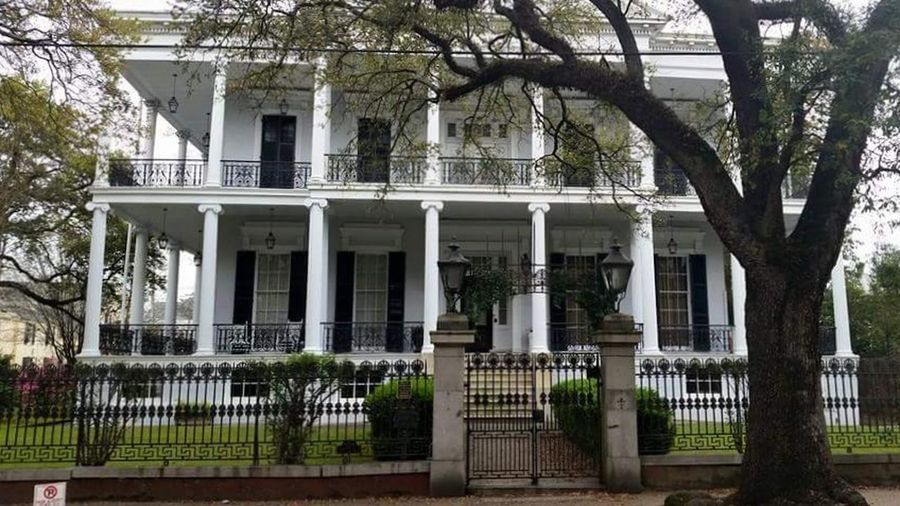 Buckner mansion, new orleans. American horror story coven Architecture Building Exterior Built Structure Ahscoven NOLA