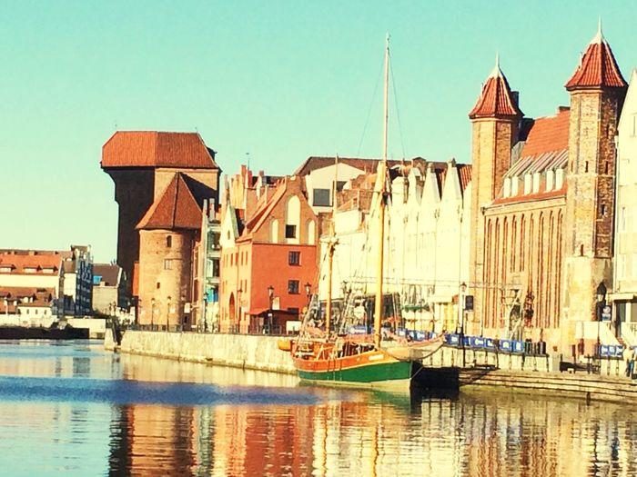 Gdansk In The Morning Weekend