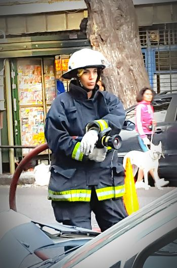 Buenos Aires, Argentina  EyeEm Buenos Aires Bomberos Bomberos En La Linea De Fuego Firemanatwork Firewoman Firewomen Firewomans Hands At Work Argentina