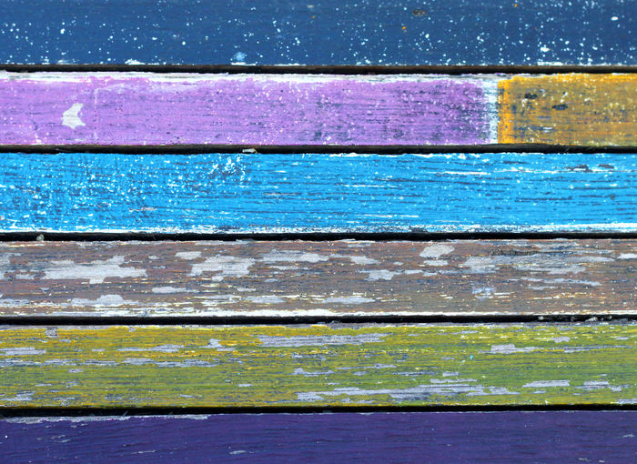 Backgrounds Blue Wood - Material Full Frame Pattern Textured  No People Close-up Weathered Purple Multi Colored Wall - Building Feature Paint Old Abstract Day Outdoors Creativity In A Row Metal Iron Textured Effect Wall Texture Plank Timber