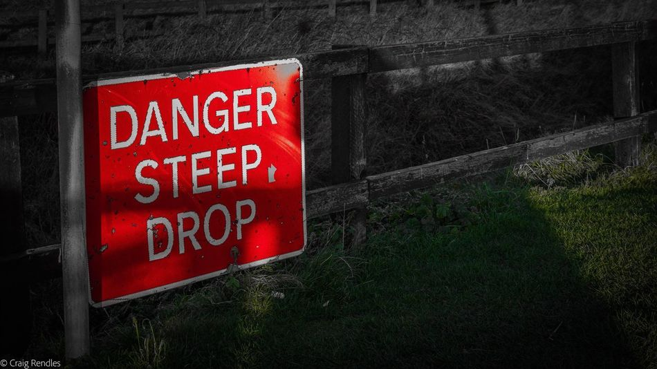 Danger No People Grass