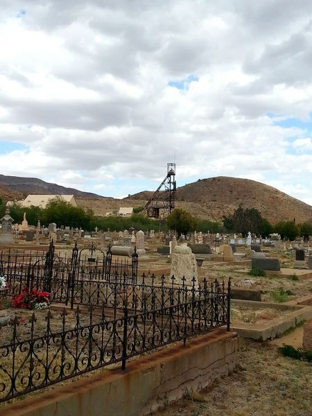 Miners' Cemetary, Bisbee Arizona - The Great Outdoors With Adobe Muertos Dia De Los Muertos Bisbee Bisbee Arizona Arizona Arizona Cochise County Cochise County Grave Graveyard Grave Yard Graveyard Beauty Graveyard Collection Cemetery Cemetary Beauty Cemetaryart Miners' Memorial Miners' Graveyard Miners' Cemetery Wrought Iron Wrought Iron Fencing Wrought Iron Gates Wrought Iron Rust Crypt Beauty Of Decay