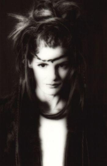 Carlotta Miti Portrait Black And White Fineart Photography Handmade Print MatteoVolta Actress