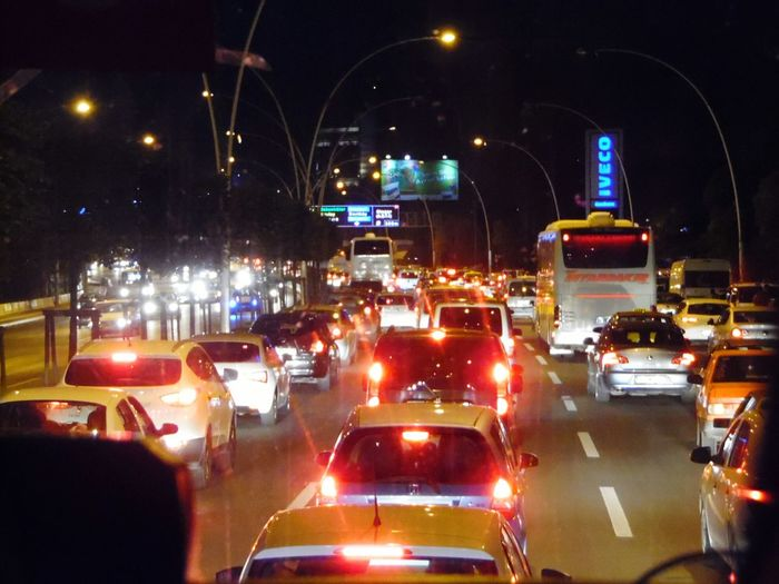 Traffic Turkey Ankara Bus Traffic View