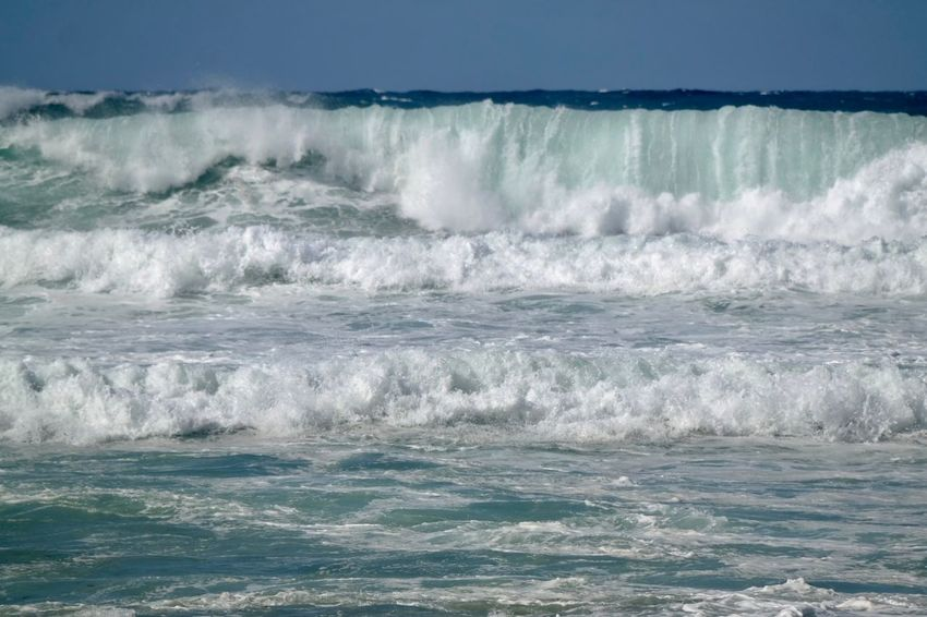 Sea Nature Wave Beauty In Nature Waterfront No People Water