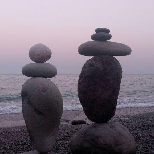 Beach No People Sea Stones Outdoors