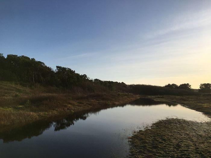Sky Water Lake