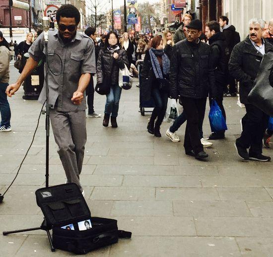 Rhythm Dance Performance Singer  Streetart Streetsinger Enjoying Life Camden Town Fc.livephoto The Street Photographer - 2016 EyeEm Awards Streetphotography London Walking Around