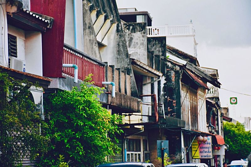 ย่านเมืองเก่าสงขลา Building Exterior Architecture Built Structure Building Residential District City EyeEmNewHere First Eyeem Photo