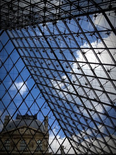 Louvre Museum Architecture Built Structure Building Exterior City Sky Full Frame EyeEmNewHere An Eye For Travel