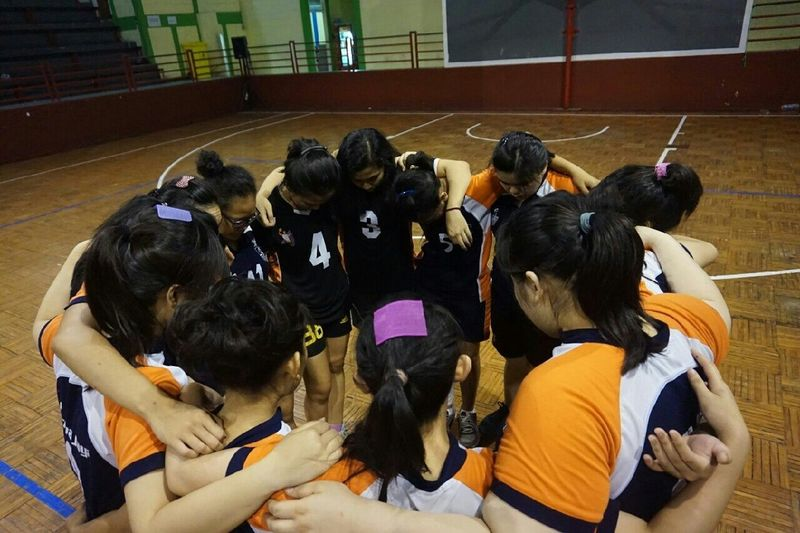 We Are A Team ! Volleyball
