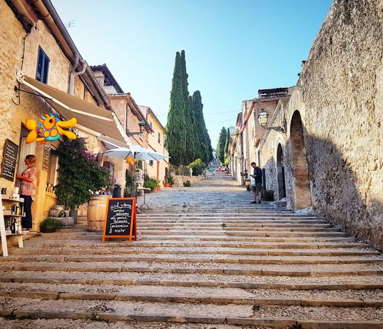 Outdoors Day Architecture Delicious ♡ Vacations SPAIN Summer Stairway Majorca, Spain Pollença (Mallorca) Building Exterior Sky No People