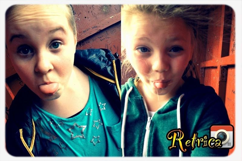 With maria!<3