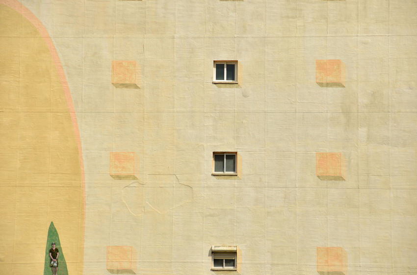 [ Nur Fassade } Architecture Backgrounds Beige Brown Building Building Exterior Built Structure City Day Design Full Frame Low Angle View Minimal Minimal Architecture Minimal Art Minimal People Minimalism Minimalistic No People Outdoors Pattern Sunlight Wall Wall - Building Feature Window