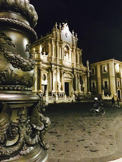 Duomo di catania Architecture Duomo Di Catania Piazza Lampione Architettura Barocca