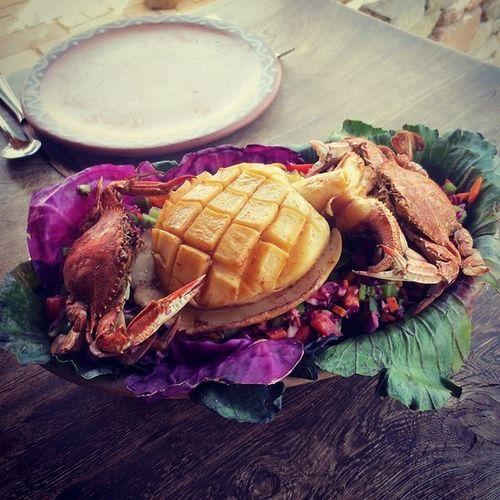 @castlezaman Slowcooked SEAFOOD🐡 Seafoodporn Squid Crab