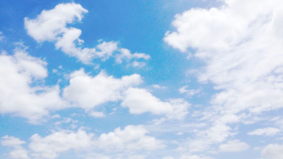Sky Clouds And Sky Blue Sky Wakana's Photo