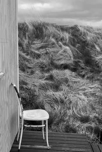 Chair Nature No People Day Grass Outdoors Landscape Seat Sky Beauty In Nature Relaxation Empty EyeEm Iceland Tranquility Atmosphere Freshness Fossatún West Iceland Iceland Trip