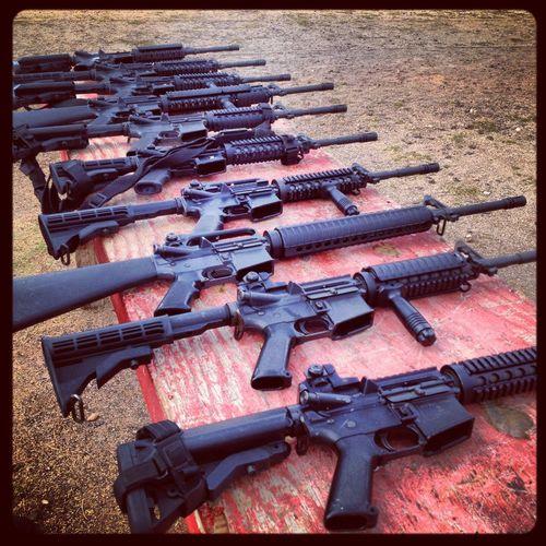 GunRangee Gunporn M16 Assaultrifle