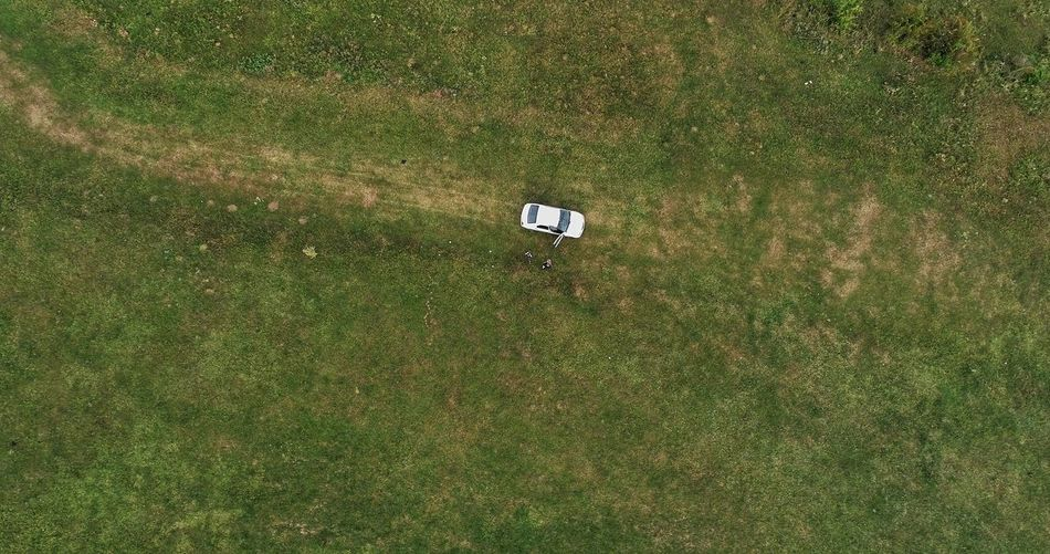 A New Beginning Backgrounds Playing Field Soccer Field High Angle View Aerial View Field Summer Grass Green Color Drone  Grass Area Unusual Angle